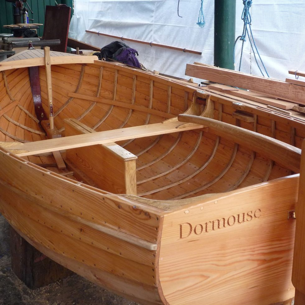 Clinker Larch Dinghy
