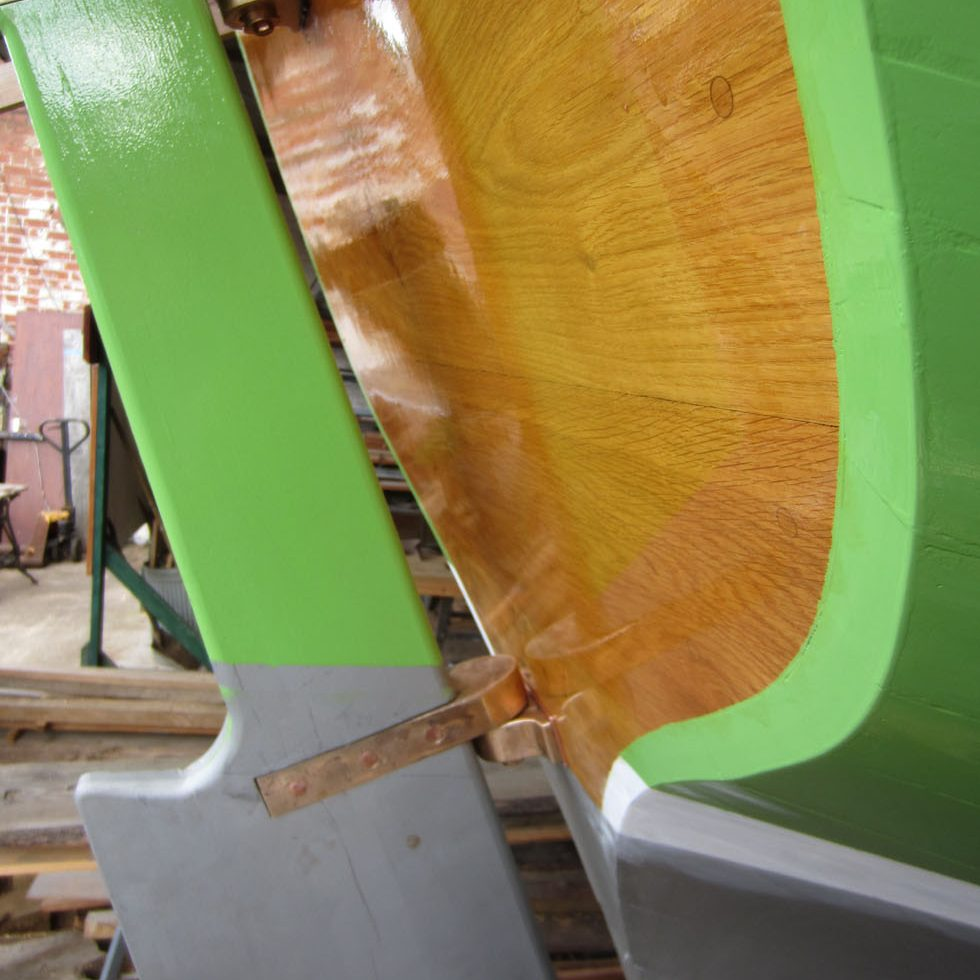Rudder Detail
