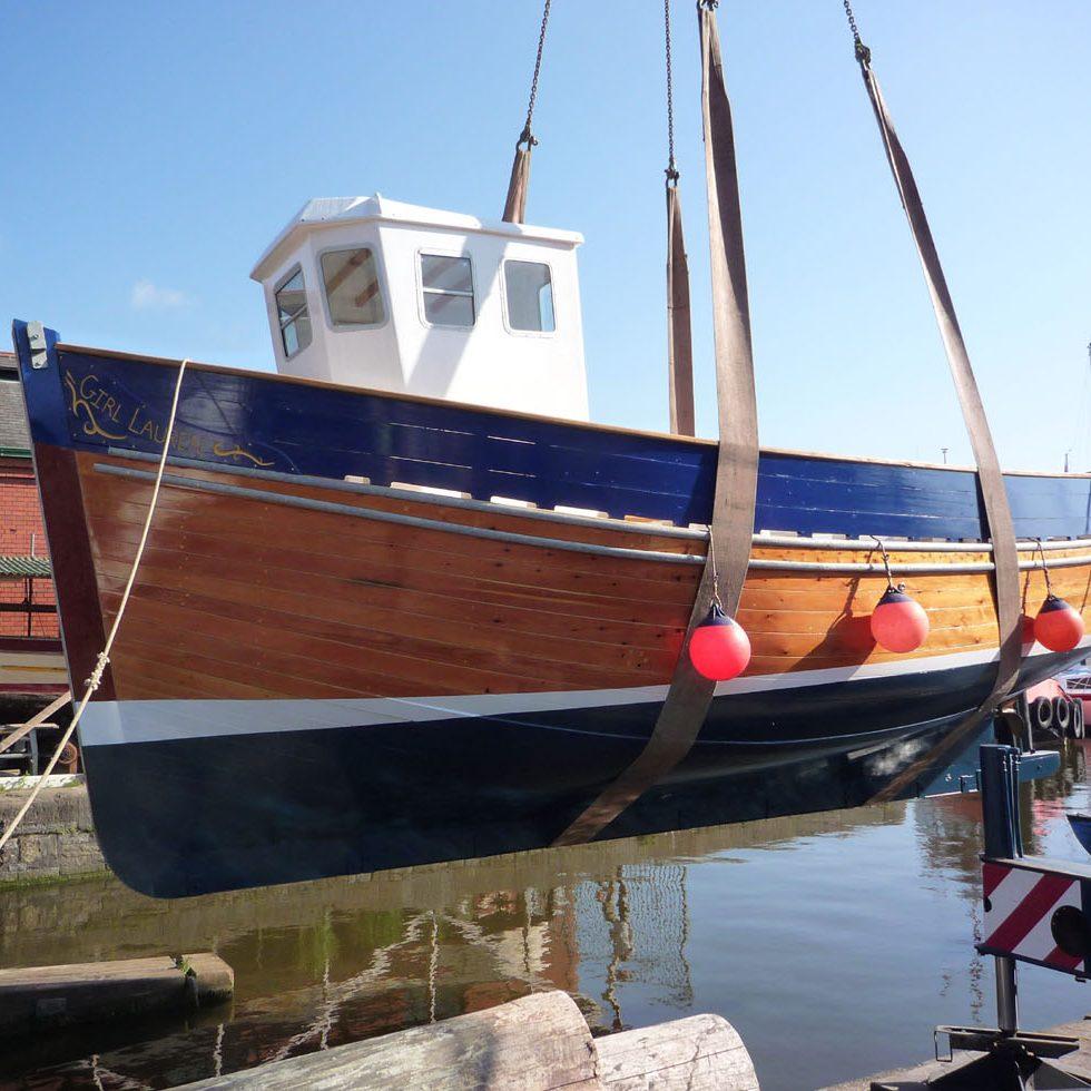 Fishing Boat, Girl Lauren. New Build