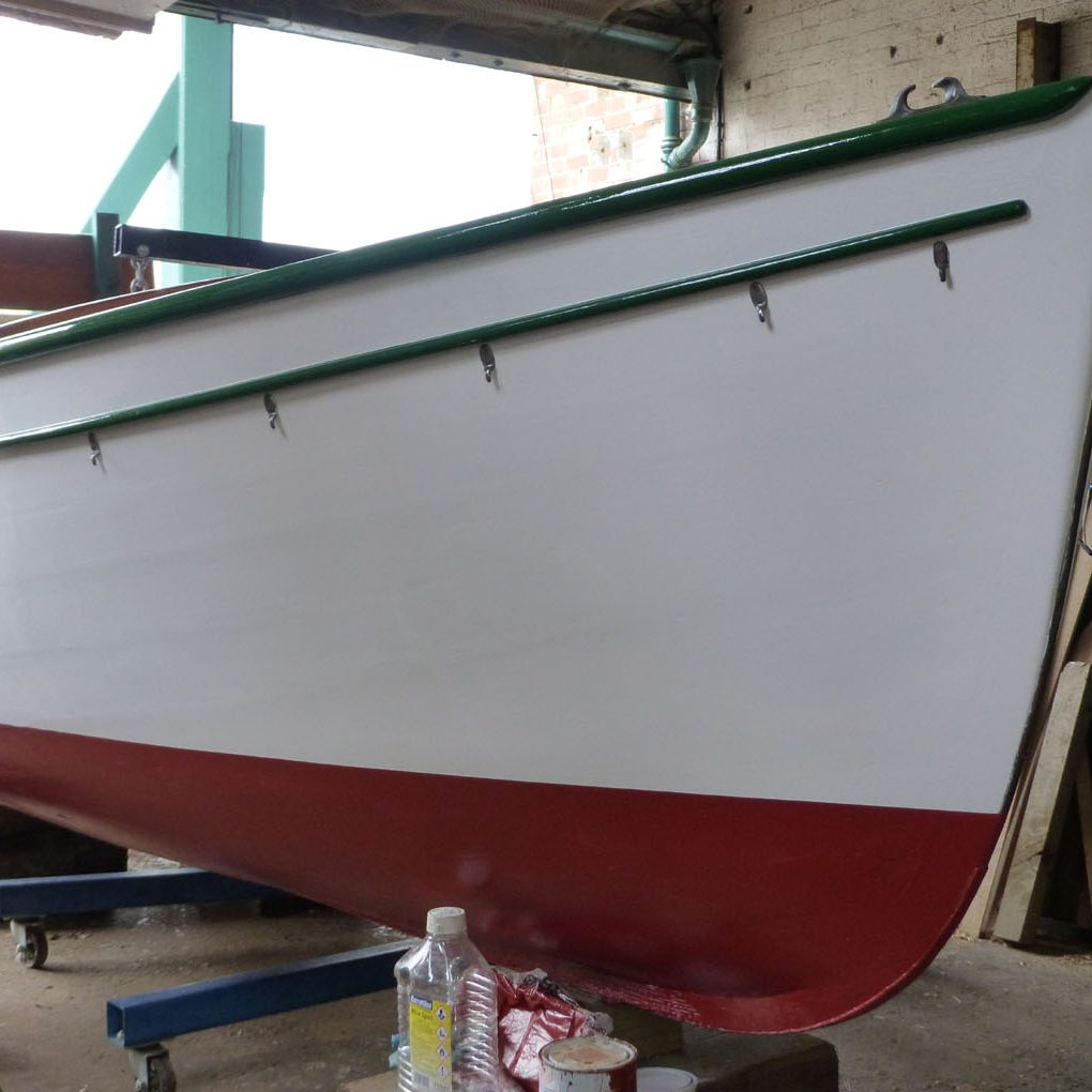 Re painting Hull