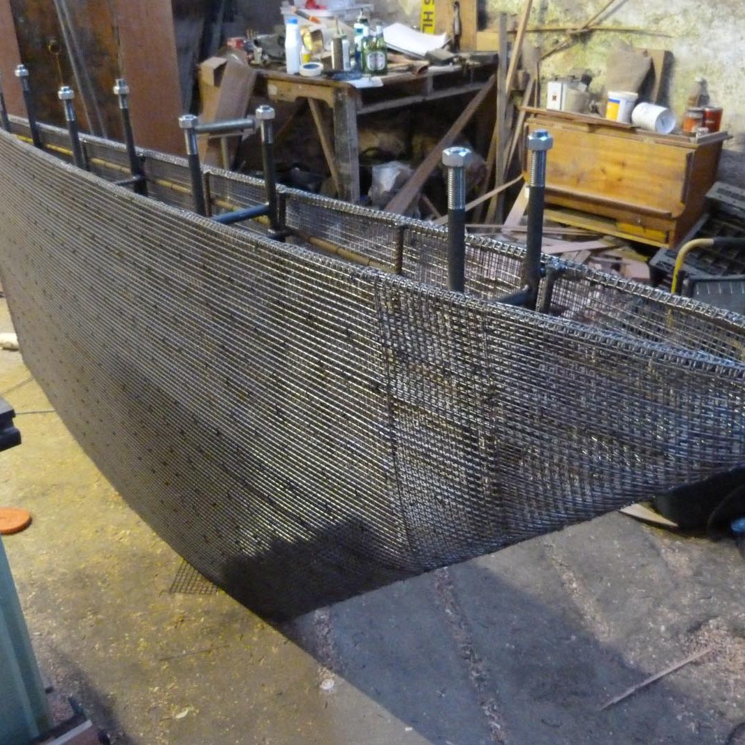 Yacht Keel Construction